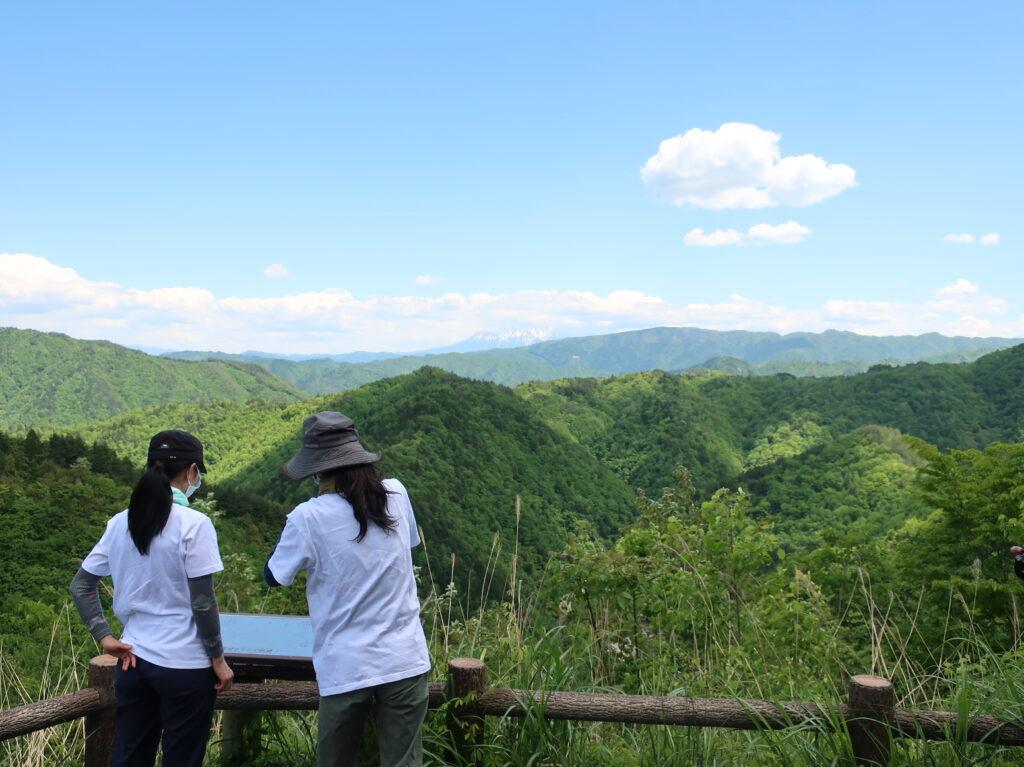 滝見展望台から乗鞍岳